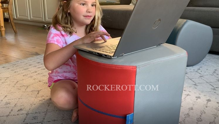NorvaNivel Rocker Ott | Homeschool Furniture | Remote Learning Furniture | Homeschool Chairs | Soft Seating