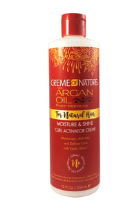 Creme of Nature Argan Moisture & Shine Curl Activator