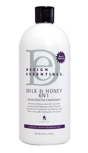 Design Essentials Milk & Honey 6 N 1 Reconstructive Conditioner