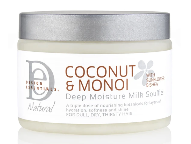 Design Essentials Coconut & Monoi Deep Moisture Milk Souffle