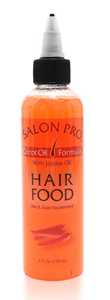 Salon Pro Hair Food Carrot Oil