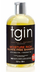 TGIN Moisture Rich Sulfate Free Shampoo For Natural Hair