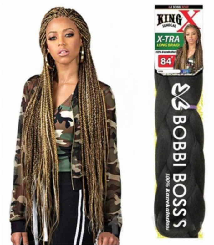 Bobbi Boss King X Senegal Extra Long Braid 84