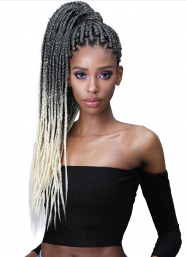 Bobbi Boss Jumbo Braid Feathertip - Pre-Stretched
