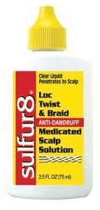 Sulfur8 Loc Twist & Braid Medicated Scalp Solution