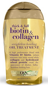 OGX Thick & Full Biotin & Collagen Weightless Healing Oil Treatment
