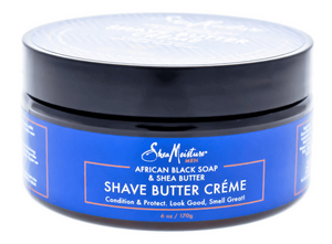 Shea Moisture Shave Butter Creme African Black Soap & Shea Butter