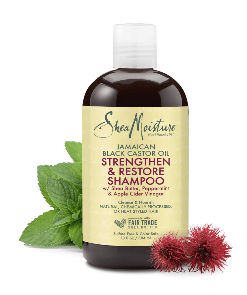 SheaMoisture Jamaican Black Castor Oil Srengthen, Grow & Restore Shampoo