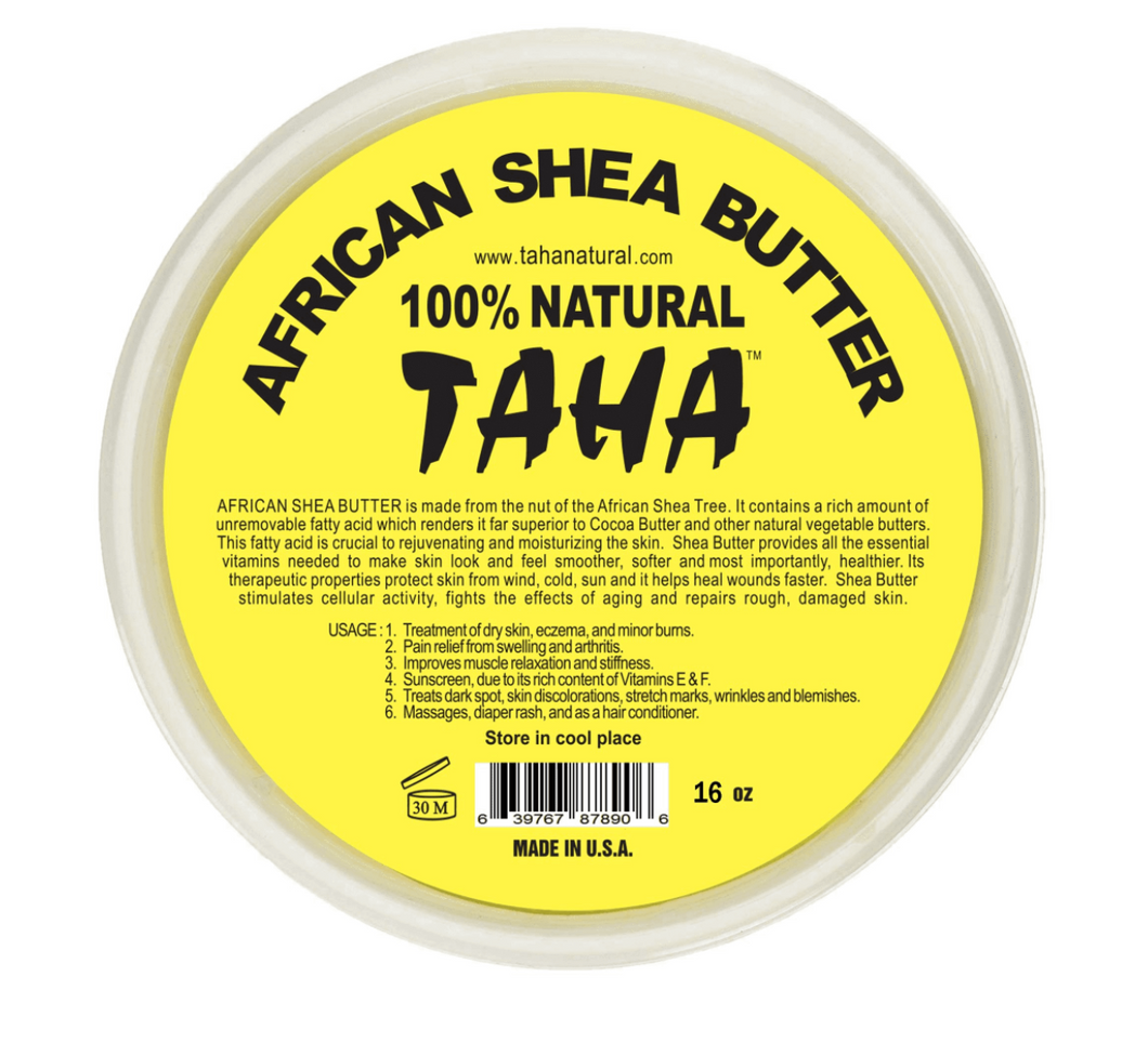 TAHA 100% Natural African Shea Butter