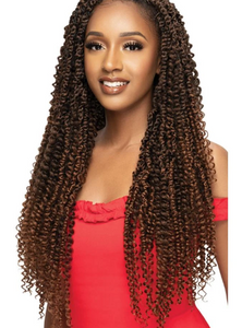 X-Pression Boho Kinky Passion Waterwave 24"
