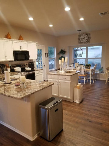 Handyman Services in San Antonio Texas. Before and After photos. Kitchen Remodeling