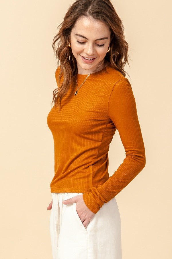 Cinnamon Lightweight Sweater