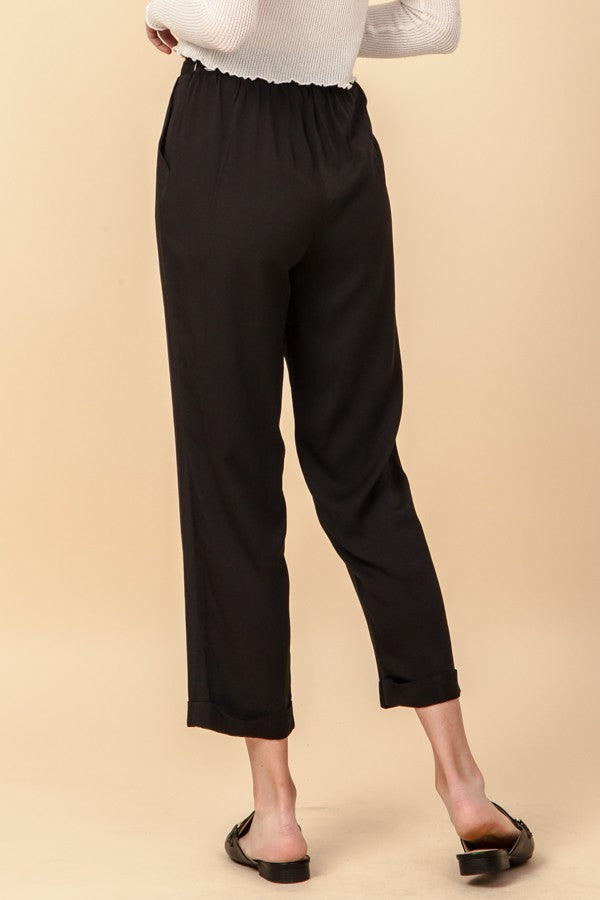 Black Cigarette Pants