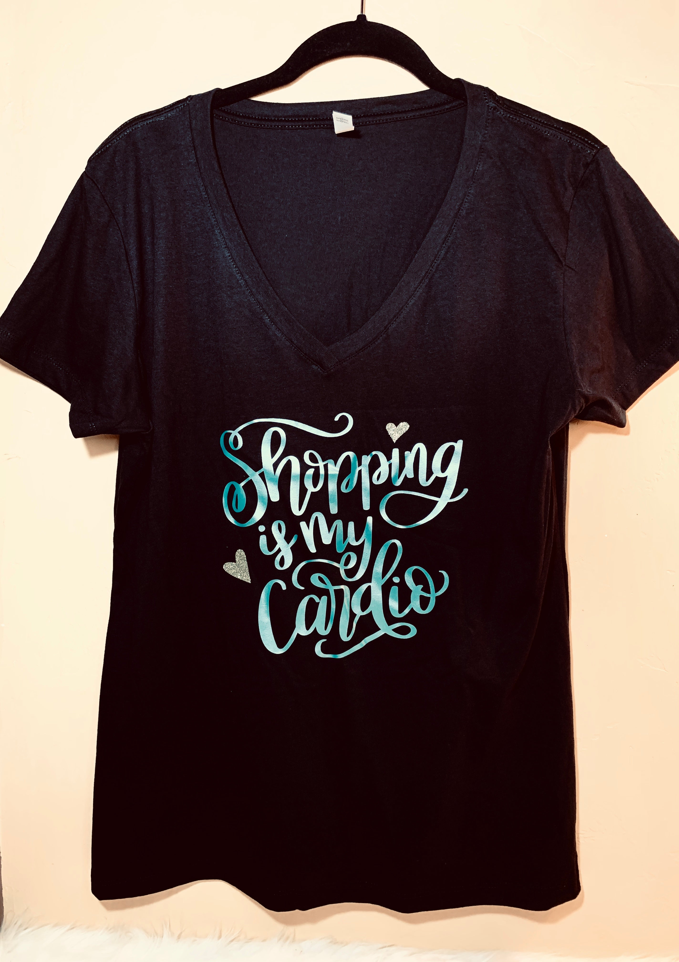 Graphic Tee Black Shopping
