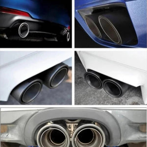 Automobile flame tail pipe