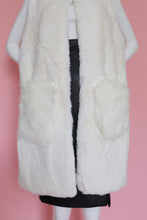 Load image into Gallery viewer, White Winter Vest