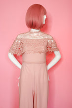Load image into Gallery viewer, Pink Lace Jumpsuit One Piece