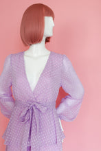 Load image into Gallery viewer, Purple Ruffle Dress One Piece