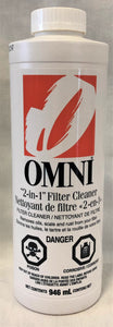 Omni 2-in-1 Filter Cleaner