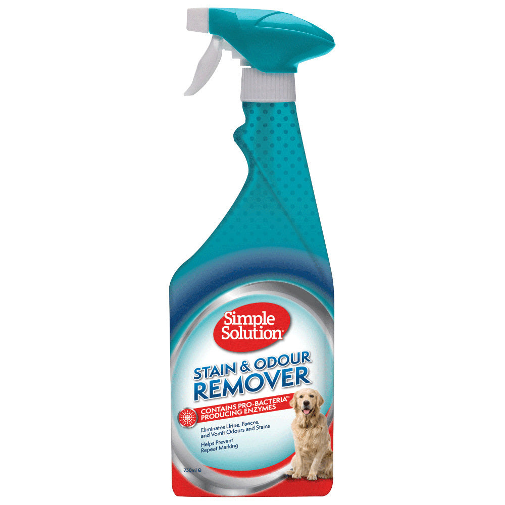Simple Solution Dog Stain & Odour Remover Enzyme Spray - Original 750ml