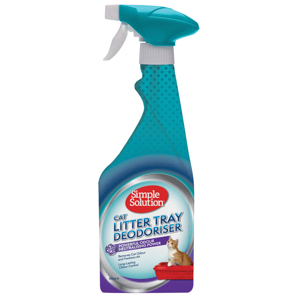 Simple Solution Cat Litter Tray Deodoriser & Odour Neutraliser 500ml