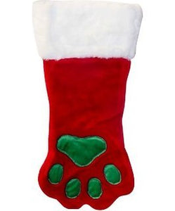Stocking Paw Red Lg by Outward Hound