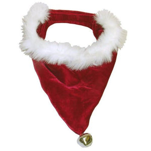Bandana Santa Red/White Small by Outward Hound
