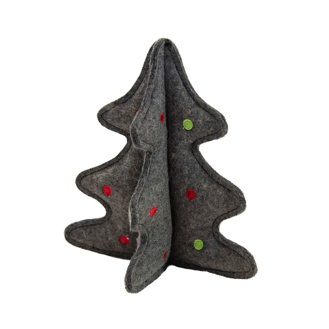 Woolyz Holiday Tree Gry Os by Outward Hound