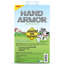 Load image into Gallery viewer, Bags on Board Hand Armor Dog Waste Pick up Bags - Extra Thick Handle Tie Bags - 100 Bags