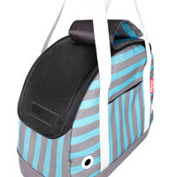 Load image into Gallery viewer, Pet Bowling Bag - Mint Monostripe