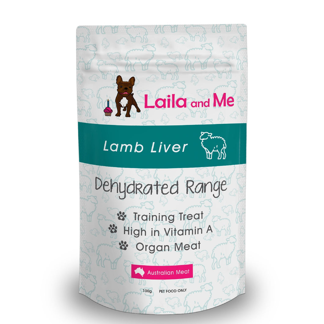 Dehydrated Australian Lamb Liver Cat & Dog Treats 100g