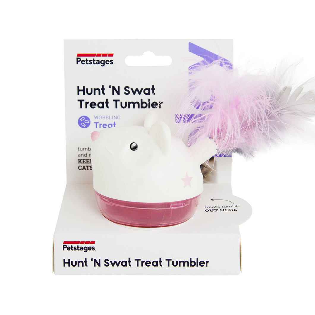 Hunt N Swat Treat Tumblers - Pink by Petstages