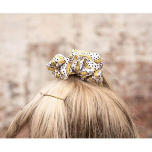 Big & Little Dogs Matching Scrunchies - Going Bananas - Dog Collars & Leads