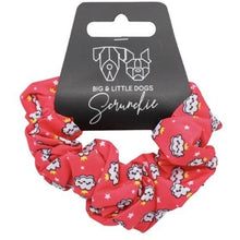 Load image into Gallery viewer, Big & Little Dogs Matching Scrunchies