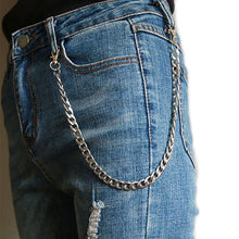 Load image into Gallery viewer, Grunge pants chain