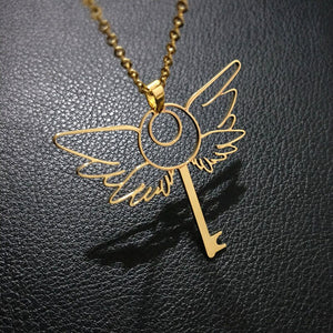 Magic key necklace