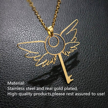 Load image into Gallery viewer, Magic key necklace
