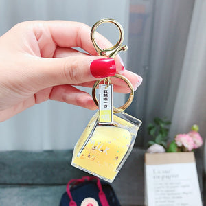 Milk key chain