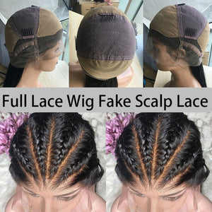 Kinky Straight Wig HD Glueless Full Lace Human Hair Wigs For Women Full Lace Wig Fake Scalp 250 Density Wig U Part Ever Beauty