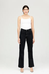 Black Diana Flared Jeans