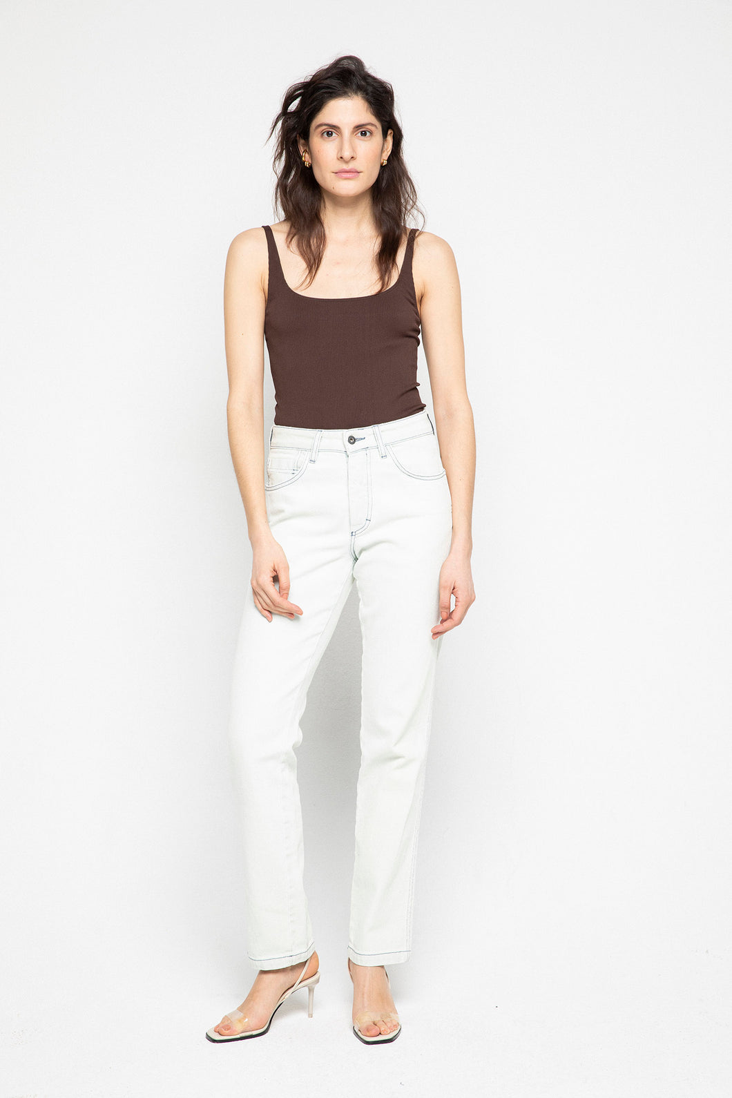 Bleached Paulo Jeans (unisex)