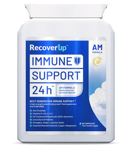 RecoverUp™ Immune Support 24h (AM & PM formulas)™: 12 Months