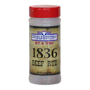 SuckleBusters 1836 Beef BBQ Rub - Low & Slow Barbecue Co.