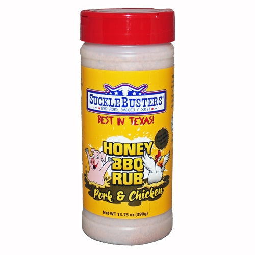 SuckleBusters Honey BBQ Rub - Low & Slow Barbecue Co.
