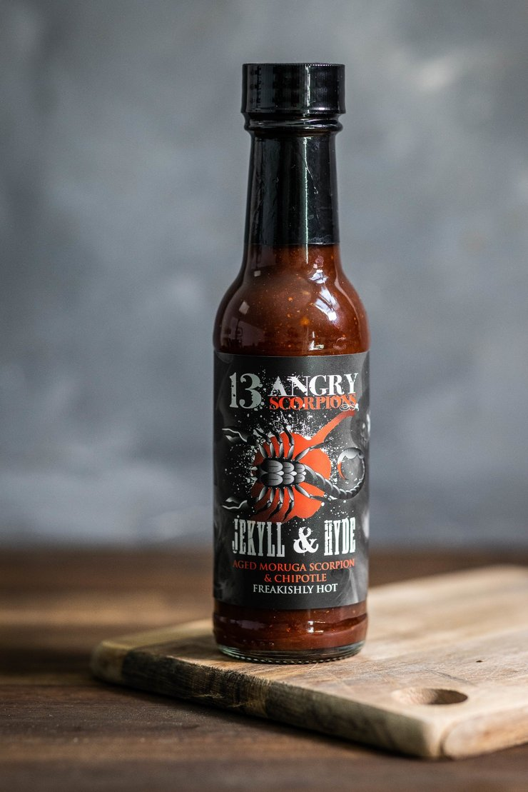 13 Angry Scorpions Jekyll & Hyde BBQ Hot Sauce - Freakishly Hot