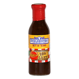 SuckleBusters Peach BBQ Sauce - Low & Slow Barbecue Co.