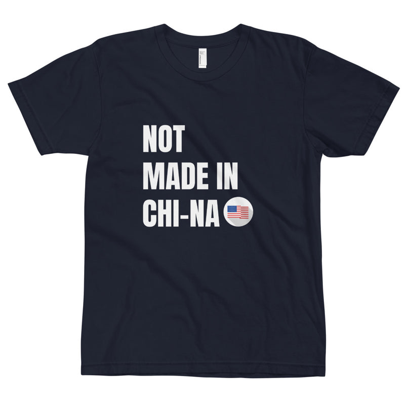 Not Made in CHI-NA - Jersey cotton T-Shirt - Live Tuff