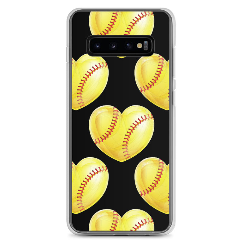 Softball Heart - Samsung Case - Live Tuff
