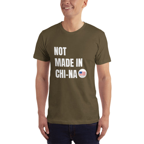 Not Made in CHI-NA - Mens T-Shirt - Live Tuff