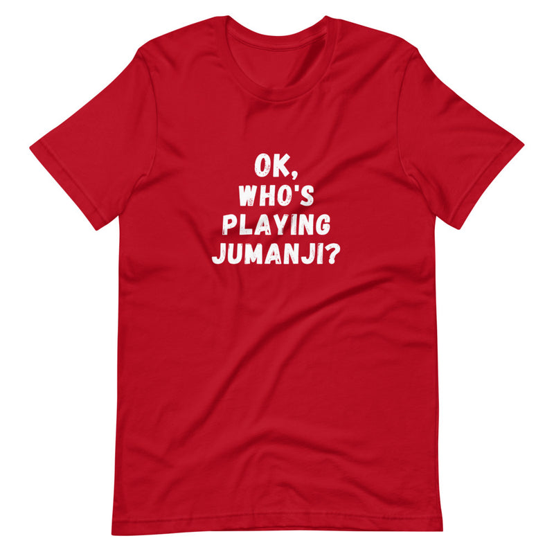 Ok, Who's Playing Jumanji? - Live Tuff